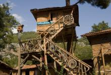 Cheap hostel kadirs treehouses mediterranean sea