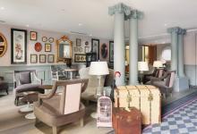 Nice elegant boutique hotel in Paris