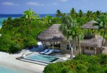 luxury retreat villa in the maldive