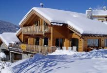 luxury chalet villa ski holiday french alps