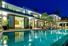 Luxury rental exotic pool Lombok Island Bali