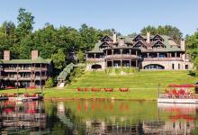 luxury rustic hotel lake placid lodge