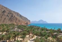 isolated luxury summer omani resort