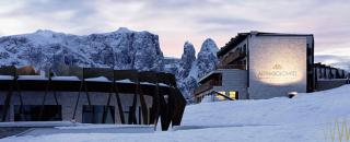 alpina dolomites ski area luxury holiday