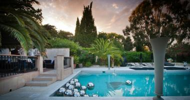 luxury villa outdoor French Riviera