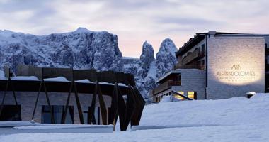 alpina dolomites ski area luxury holiday