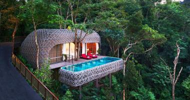 bird's nest villa private infinity pool keemala hotel phuket
