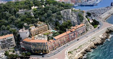 luxury hotel la parouse nice, french riviera