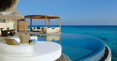 luxury rental villa maldives
