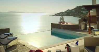 exotic luxury destination vacation Mykonos Greece
