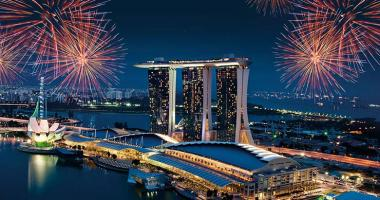 3 towers and skypark marina bay sands, singapore
