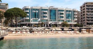 luxury beachfront cannes hotel jw marriott