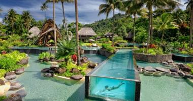 exotic luxury resort fiji