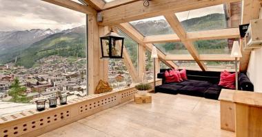 luxury ski vacation chalet