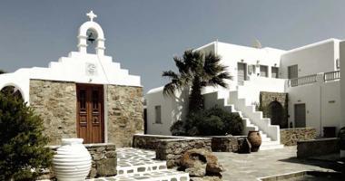 nice and elegant minimalistic hotel mykonos