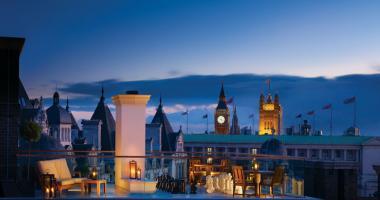 finest hotels London Corinthia penthouse luxury terrace view