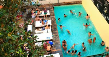 florence outdoor pool plus hostel