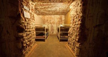 underground four bed dormitory room radeka hostel