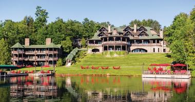 luxury rustic hotel lake placid lodge