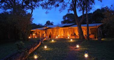 Luxury tent safari Kenya
